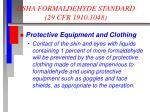 osha formaldehyde standard 29 cfr 1910 10484