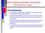 osha formaldehyde standard 29 cfr 1910 10486