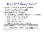 does rsa really work