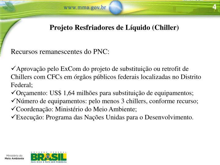 Projeto Resfriadores de Líquido (Chiller)