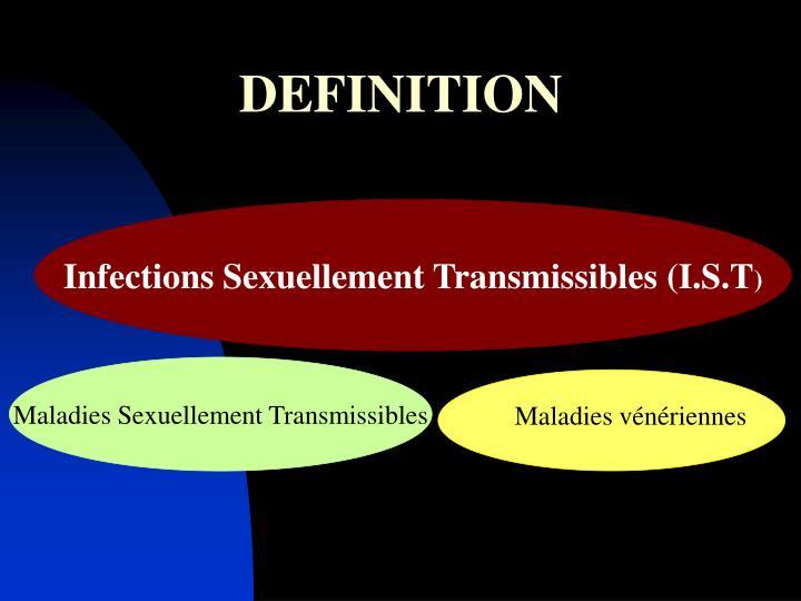 Infections Sexuellement Transmissibles (I.S.T