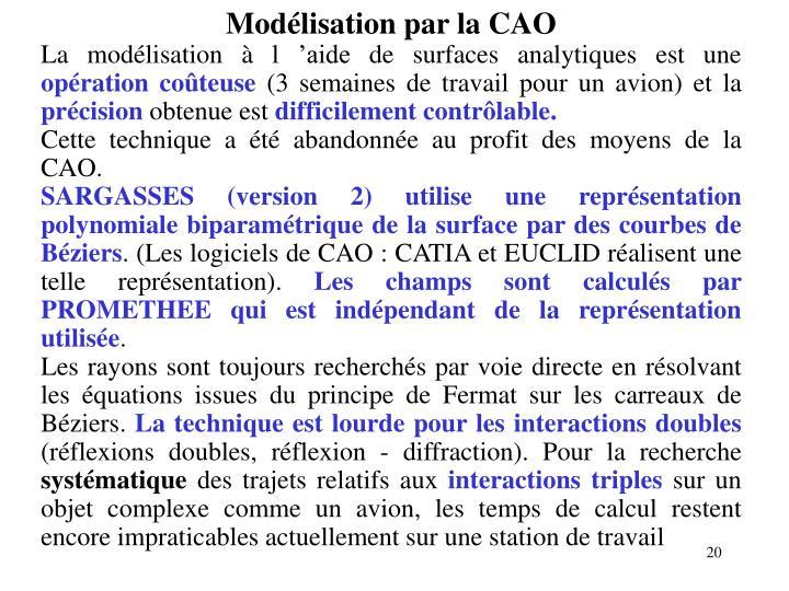 Modélisation par la CAO