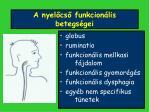 a nyel cs funkcion lis betegs gei1