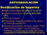 anticoagulaci n