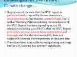 challenges for the future climate change1