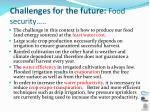 challenges for the future food security2