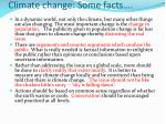 climate change some facts7
