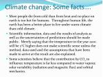 climate change some facts8