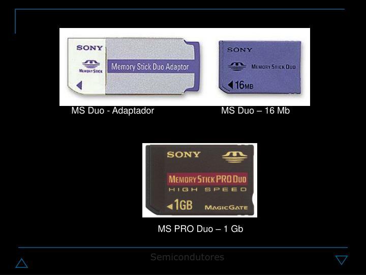 MS Duo - Adaptador