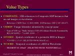 value types2