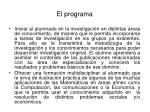 el programa6