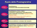 ruolo delle prostaglandine