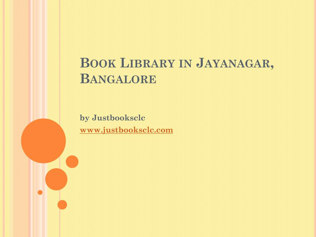 book library in jayanagar bangalore l.