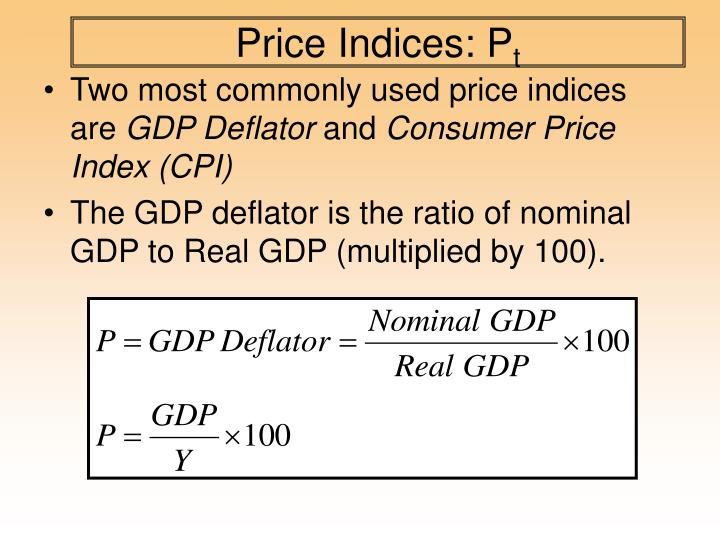Price Indices: P