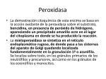 peroxidasa
