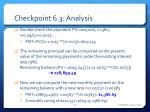 checkpoint 6 3 analysis