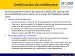 certificaci n de middleware