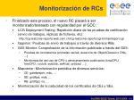 monitorizaci n de rcs