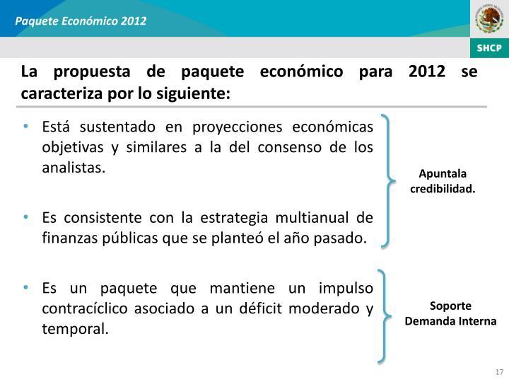 Paquete Económico 2012