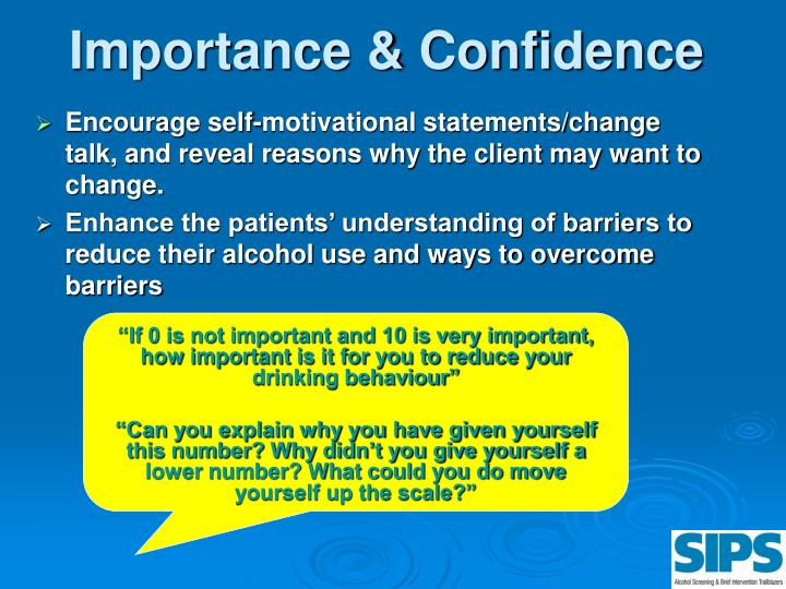 Importance & Confidence