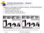 infrastrukturkosten wasser