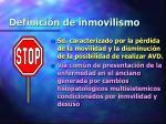 definici n de inmovilismo1