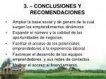 3 conclusiones y recomendaciones