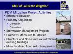 pdm mitigation project activities