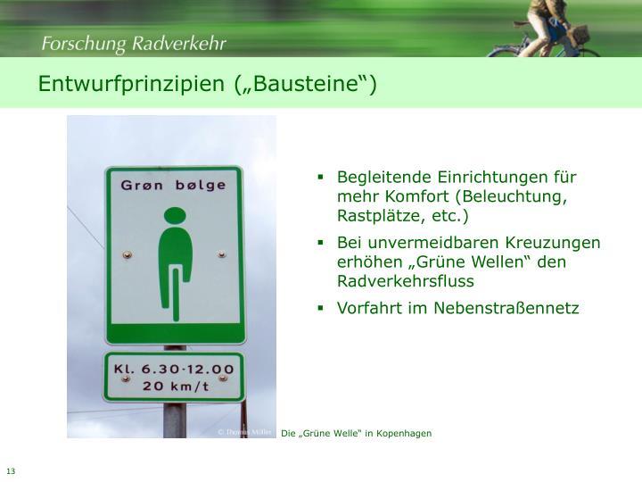 """Entwurfprinzipien (""""Bausteine"""")"""