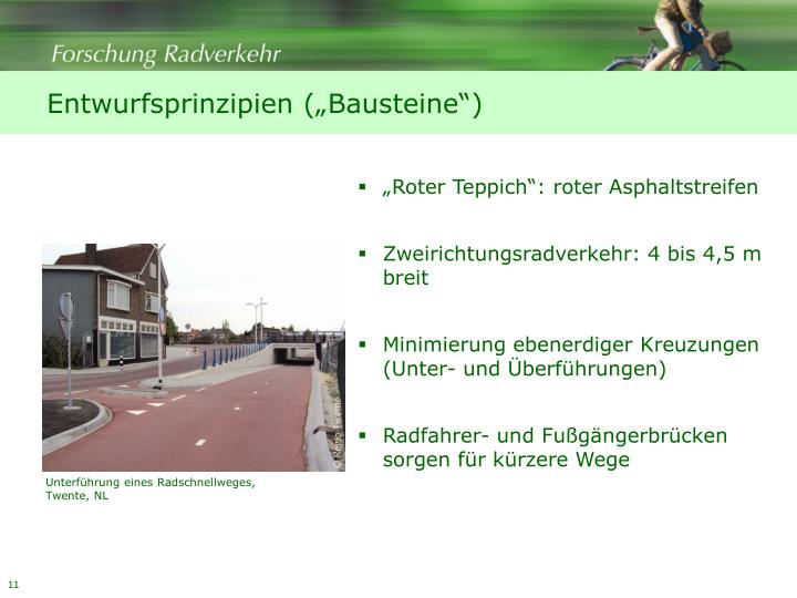 """Entwurfsprinzipien (""""Bausteine"""")"""