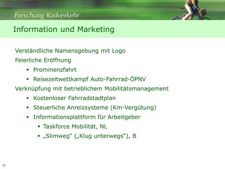 Information und Marketing