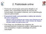 2 publicidade online