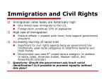 immigration and civil rights
