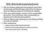 eeg electroencephalogram