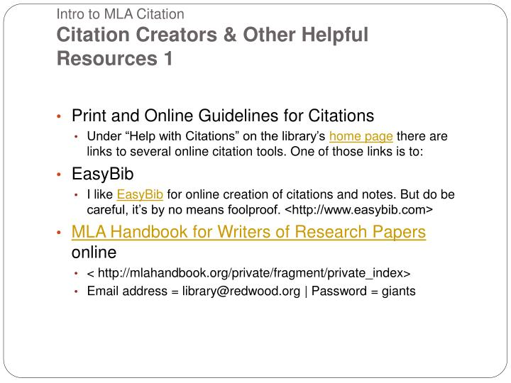 cse citation creator