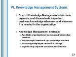 vi knowledge management systems1