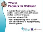 what is partners for children1
