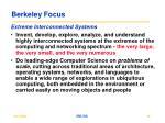 berkeley focus