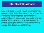 interdisciplinaridade1