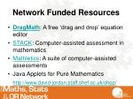 network funded resources1