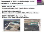 saneamiento de sitios contaminados por llantas de desecho en la frontera norte1