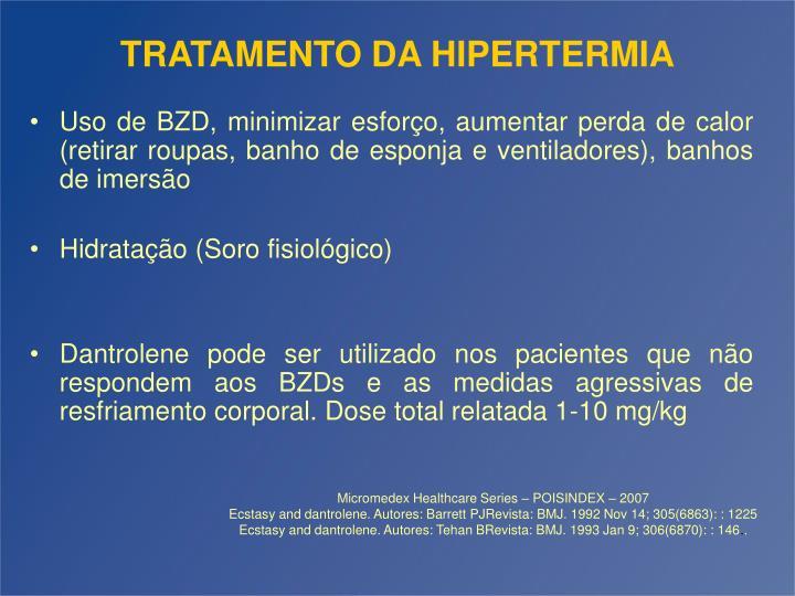 TRATAMENTO DA HIPERTERMIA