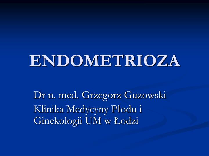 endometrioza n.