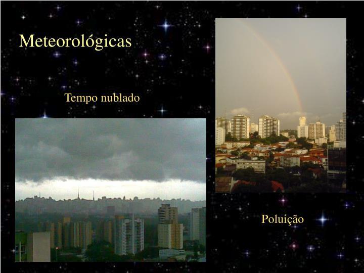 Meteorológicas