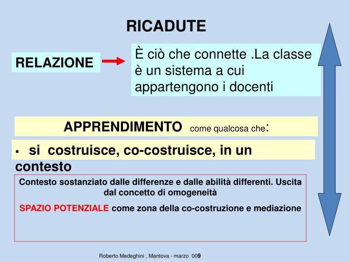 RICADUTE