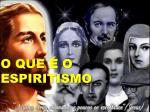 o que o espiritismo