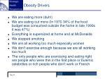 obesity drivers