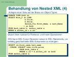 behandlung von nested xml 4