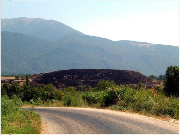 Die Ruinen von Kolossä