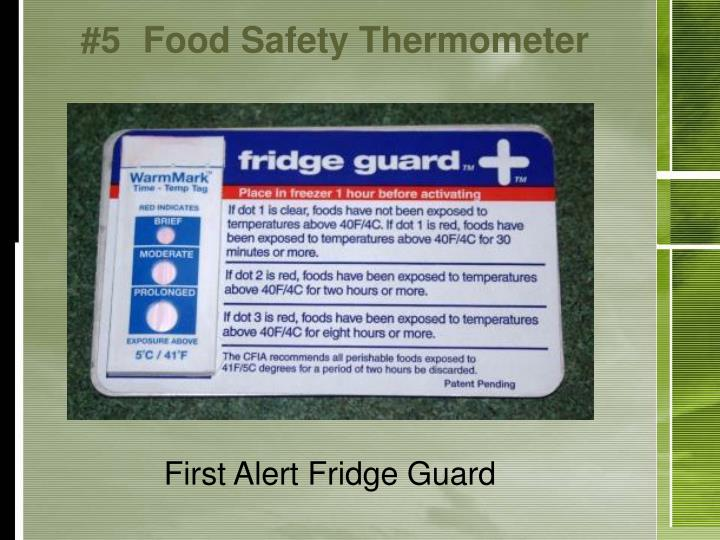 #5Food Safety Thermometer